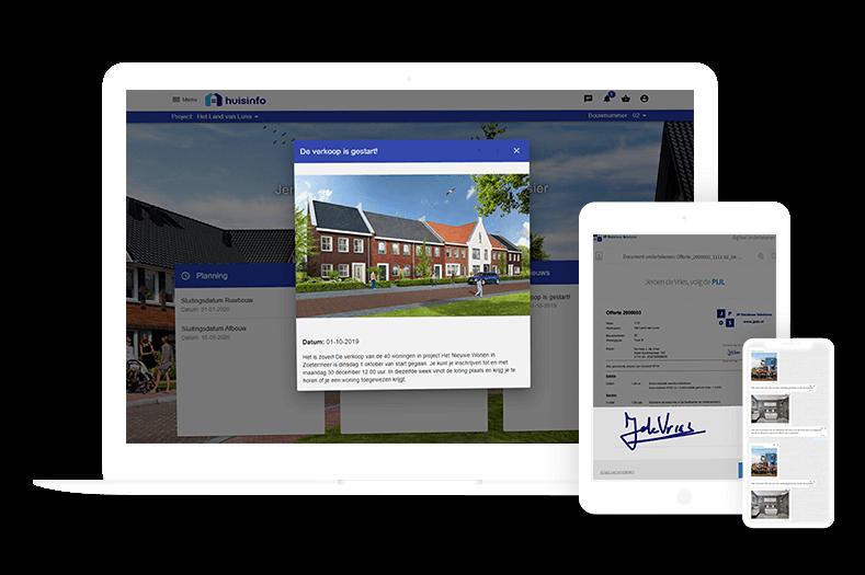 Digitaal bestellen en ondertekenen met JP Database Solutions in de bouwsector