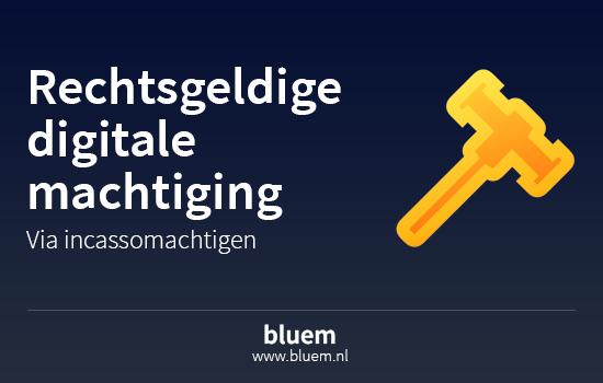 InstallatieBalie.nl maakt gebruik van de Emandate van Bluem